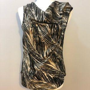 Anne Klein cowl neck blouse